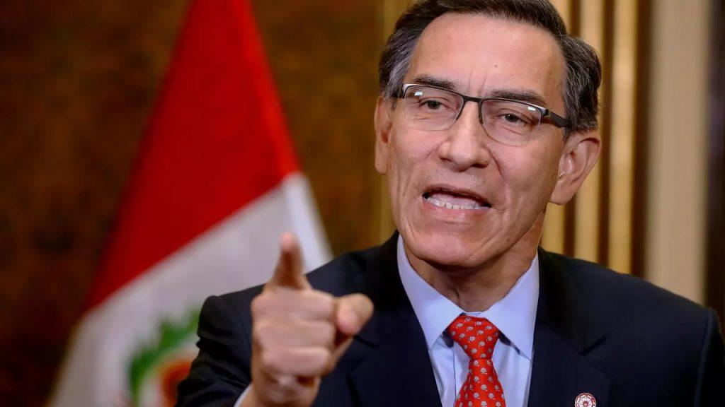 ex presidente peruano Martín Vizcarra