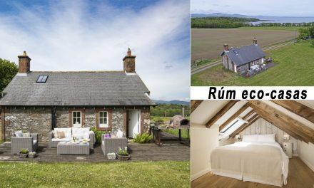 Isla de Rum en Escocia, ofrece eco-casas de última generación