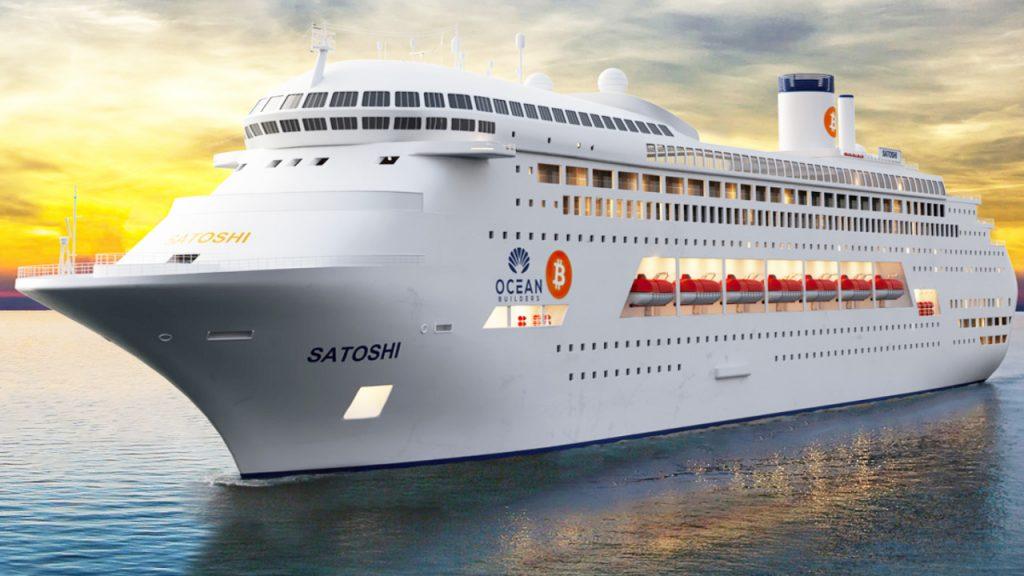 Crucero residencial MS Satoshi, una opción para vivir en Panamá como nómada digital