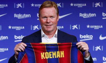 Ronald Koeman, el director técnico del Barcelona ya tiene resultados
