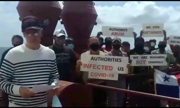 La tripulación del buque Star Balboa pide AUXILIO a Panamá
