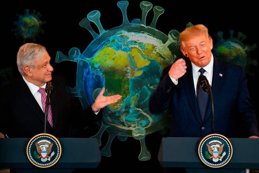 Trump y Obrador están contra el look down y parece que su postura es bien aceptada