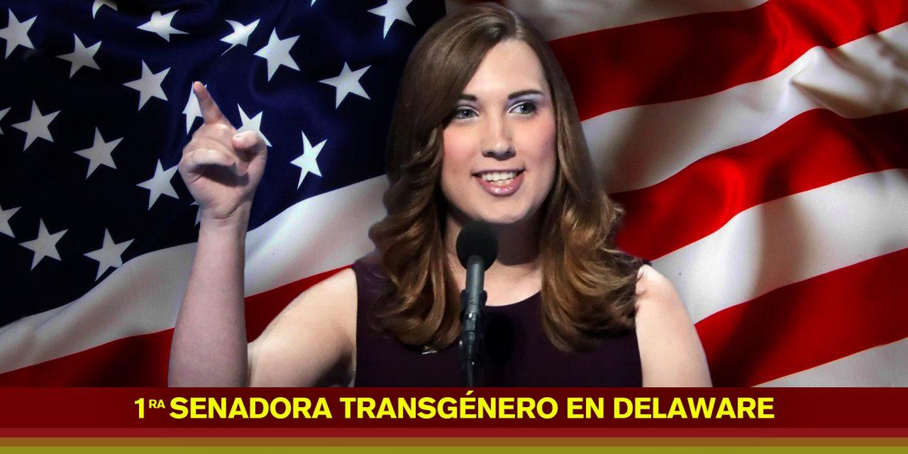 Sarah McBride la primera transgénero en llegar al senado de Delaware
