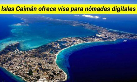 Islas Caimán ofrece visa para nómadas digitales, durará 2 años
