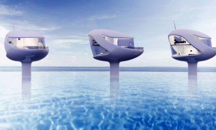 SeaPod: una casa sobre el mar perfecta para nómadas digitales