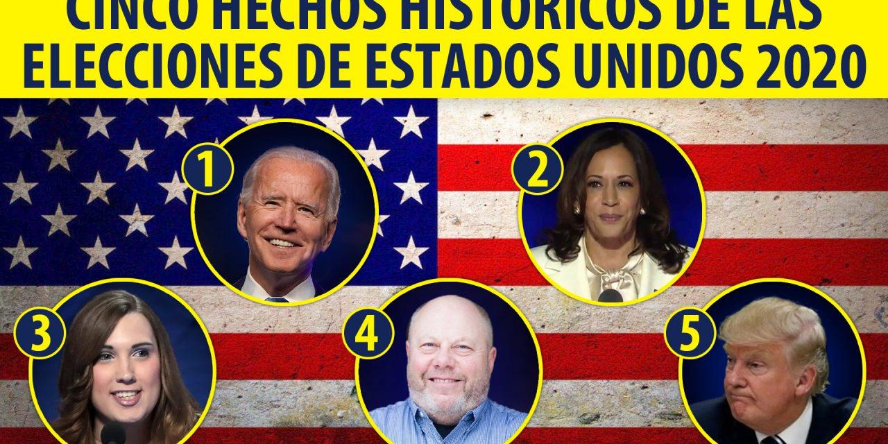Cinco hechos históricos de las elecciones de Estados Unidos 2020