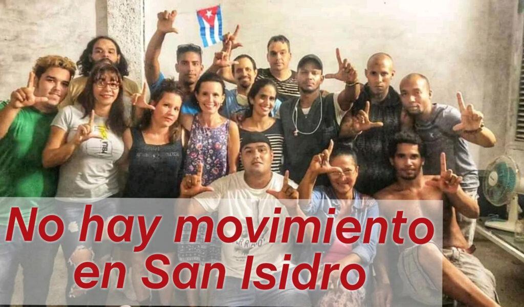 Gobierno cubano acusa a EE.UU de apoyar al Movimiento San Isidro