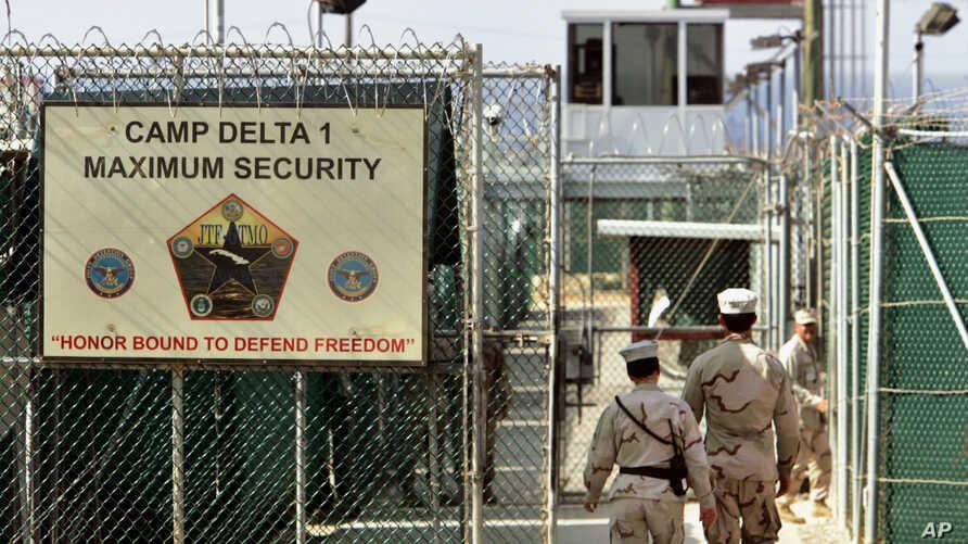 La Base Naval de Guantánamo se convierte en prisión