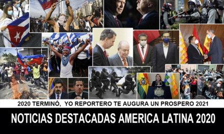 Las noticias más impactantes de Latinoamérica en 2020