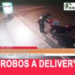 Atención a las entregas a domicilio, la criminalidad los tiene en la mira