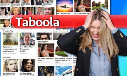 Taboola el fastidioso chumbox en las noticias online