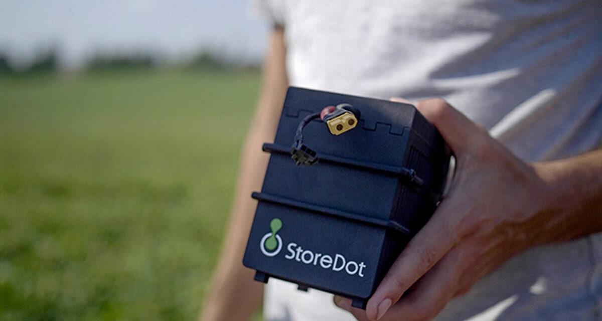 Con las baterías StoreDot puedes cargar tu auto en solo cinco minutos