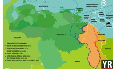 Esequibo, foco de tensión permanente entre Guyana y Venezuela