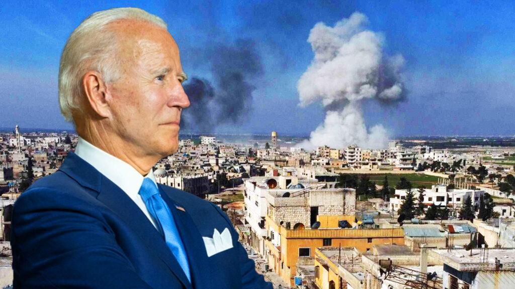 Biden apenas lleva un mes en la Casa Blanca y ya lanzó su primera acción de guerra