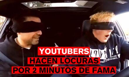 YouTubers hacen locuras por 2 minutos de fama y unos like