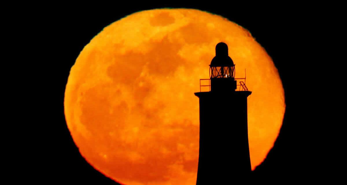 La superluna rosada durará tres días, del 26 hasta el 29 de abril