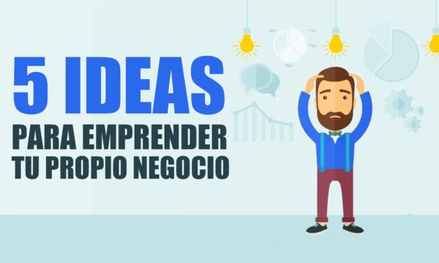 5 ideas para emprender tu propio negocio online con éxito