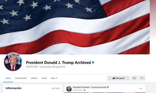 Facebook mantiene la censura sobre Donald Trump