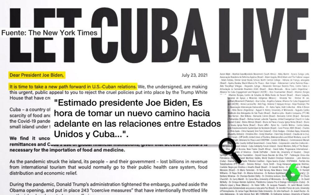 Anuncio político pagado en The New York Times sobre Cuba provoca polémicas en Miami