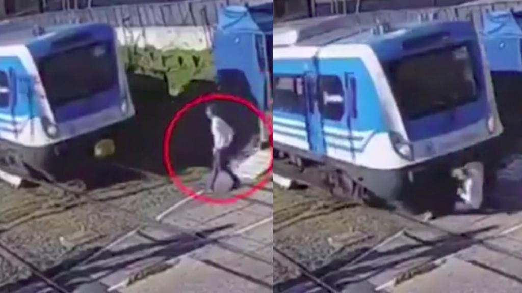 Un bloguero finge suicidarse tirándose delante de un tren y acaba detenido