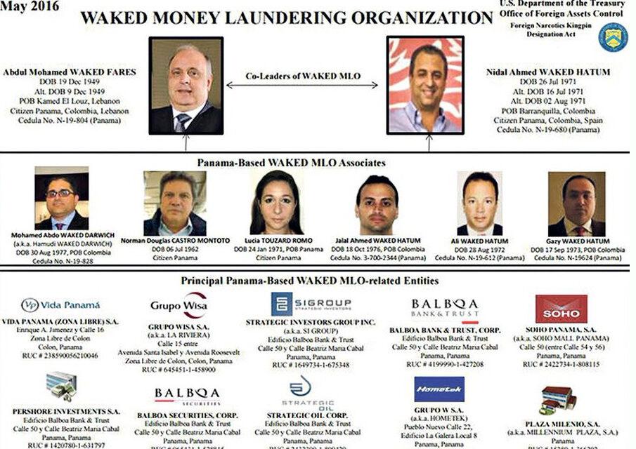 Cuatro empresas de Abdul Waked salen de la Lista Clinton